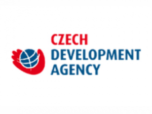Logo of the Czech Development Agency.