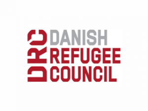 Logo of the Danish Refugee Council.