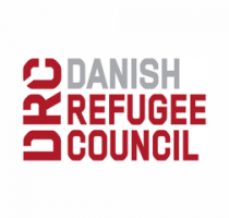 Logo of Danish Refugee Council.