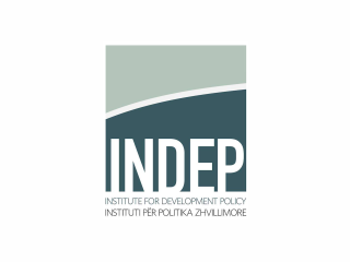 Logo of the Institute for Development Policy.